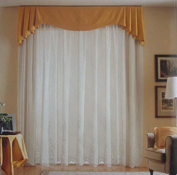 Gobbo arredo tende misto lino for Tende da camera da letto immagini