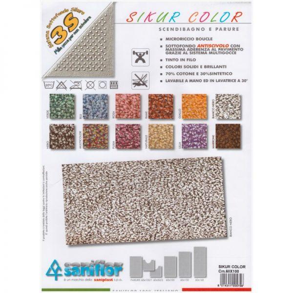 Tappeto mod. SIKUR COLOR TAP 600016
