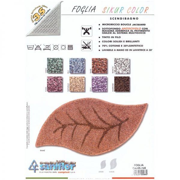 Tappeto mod. FOGLIA SIKUR C TAP 60007